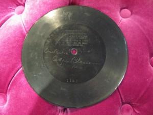 1896年碟型留声机唱片