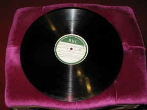 1944年 12'' 78rpm BBC Duke Ellington 金属母盘