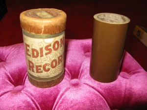 Edison Blank Cylinder before recording