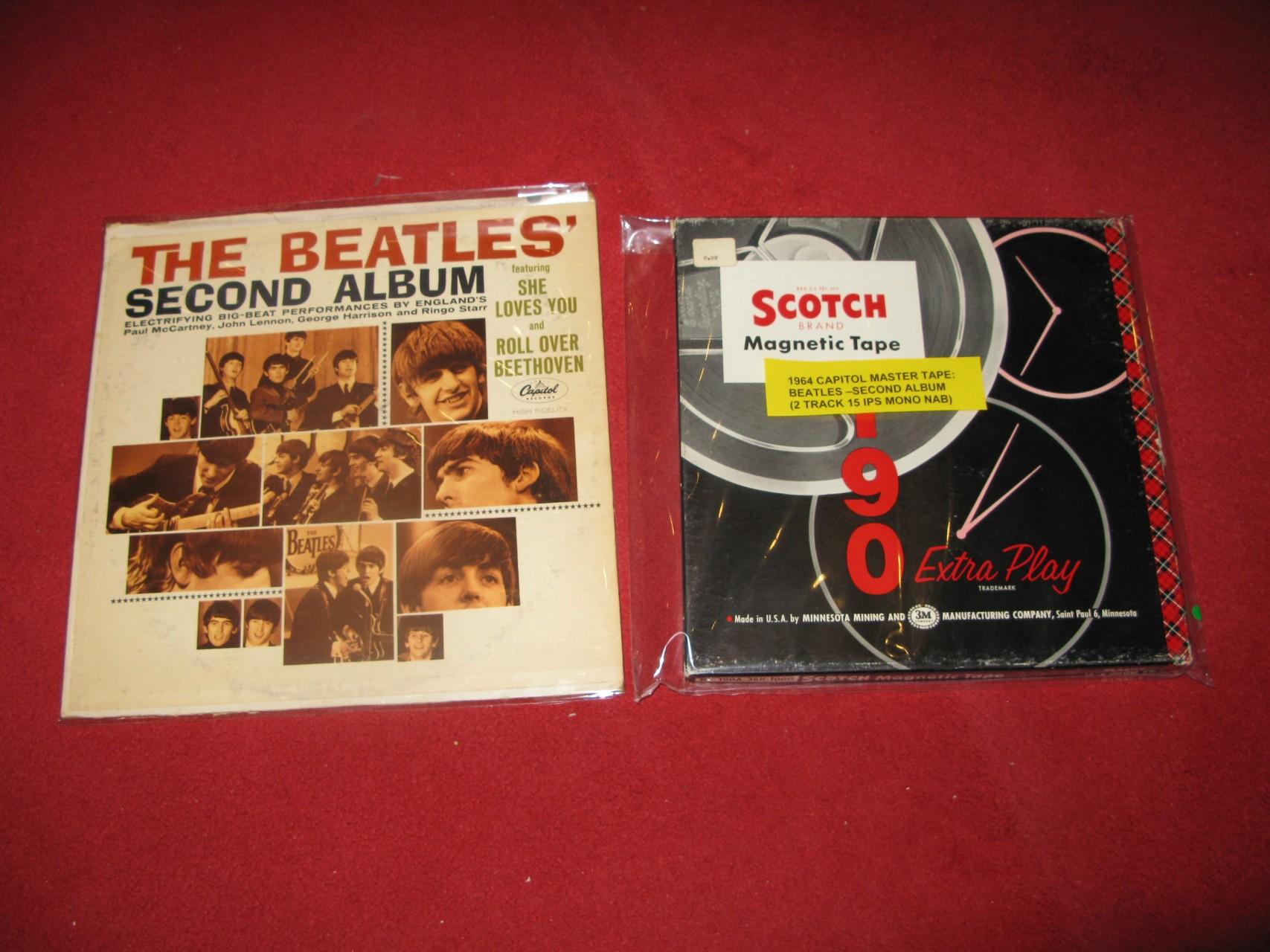 Beatles  - Second album mono 母帶