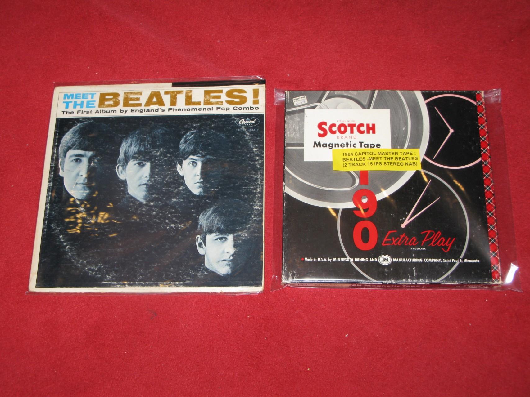BEatles - Meet the Beatles stereo 母帶