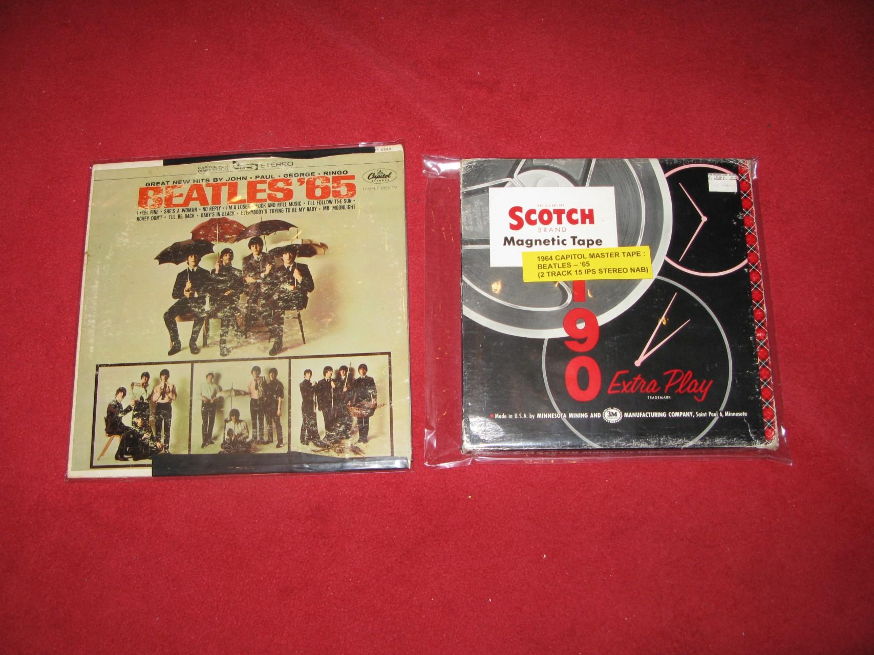 Beatles - '65 Stereo 母帶