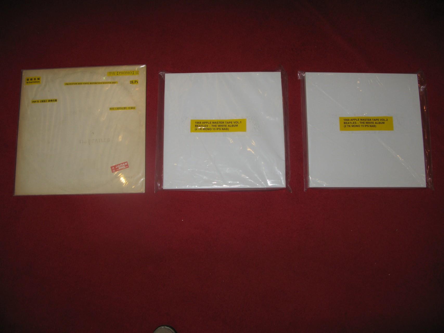 Beatles - White album mono 母帶