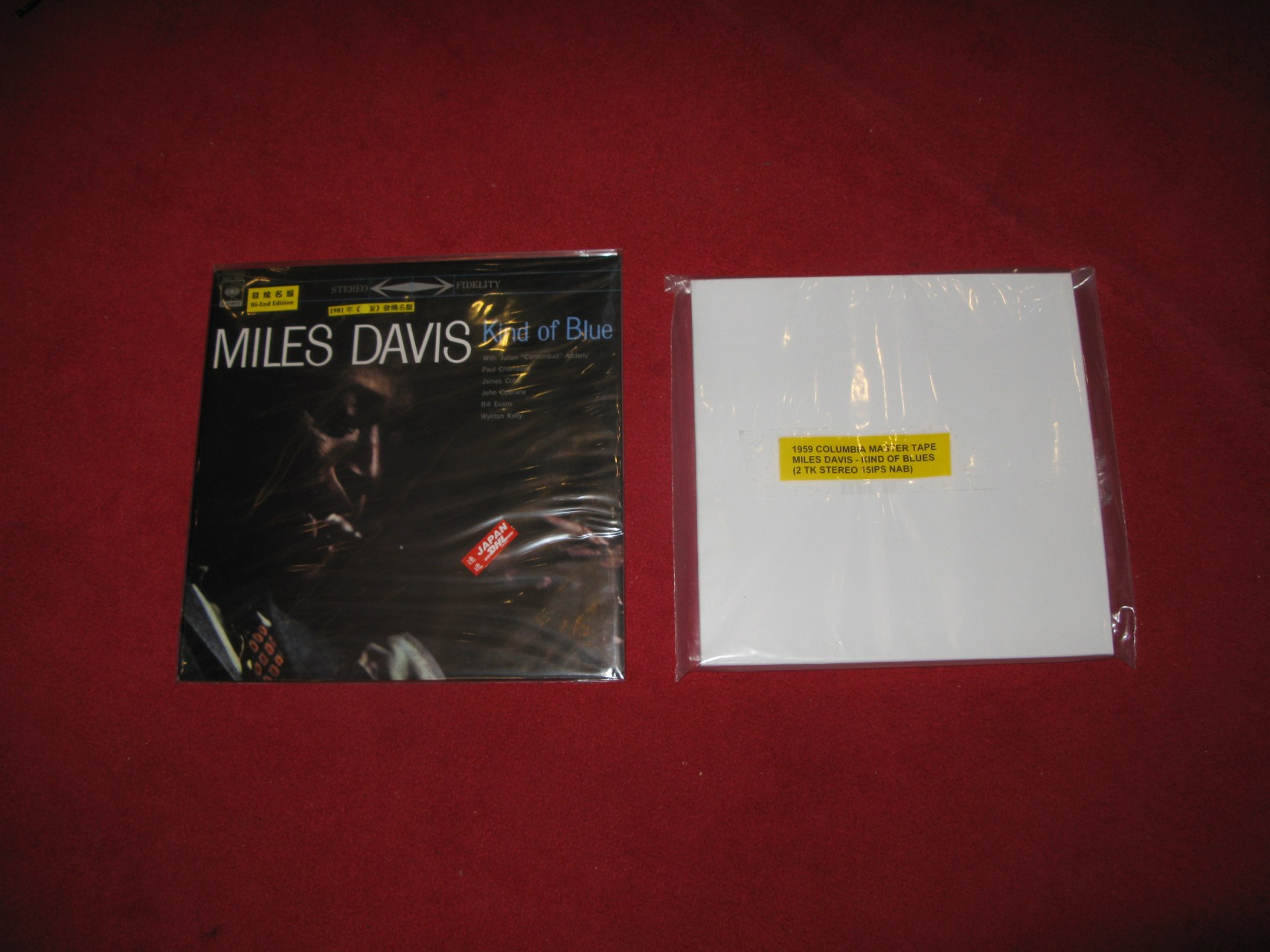 Miles Davis - Kind of blue Stereo 母帶