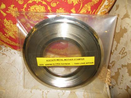 ACETATE METAL MOTHER STAMPER
